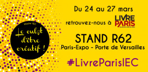 Stand IEC au Salon Livre Paris