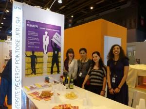 Equipe organisatrice Salon du Livre de Paris 2014