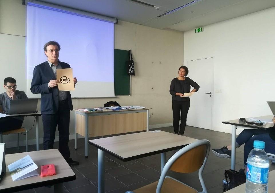 Masterclass Marc Sanchez et Véronique Marrier