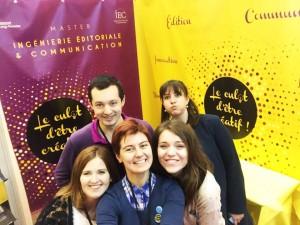 Equipe organisatrice Livre Paris 2017
